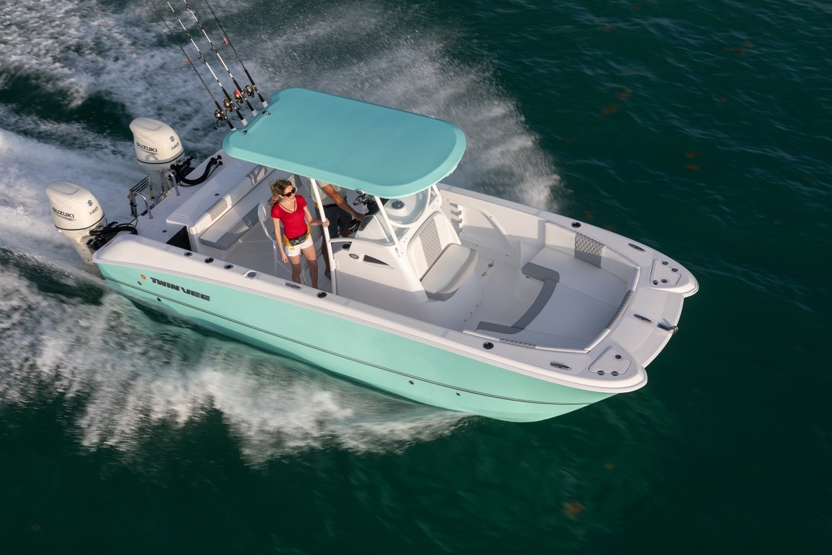 Twin Vee 240 Center Console Featured in Boating Magazine